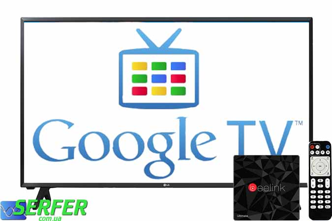 Google TV BOX foto