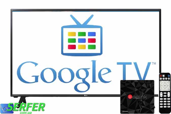 Google TV BOX foto