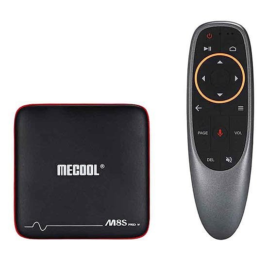 Mecool Pro W смарт приставка