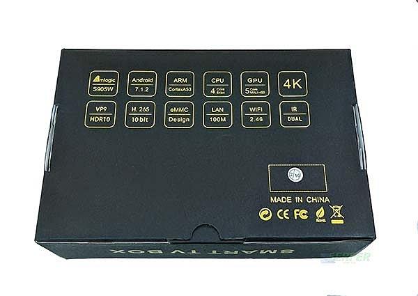 Андроид приставка X96 Mini коробка
