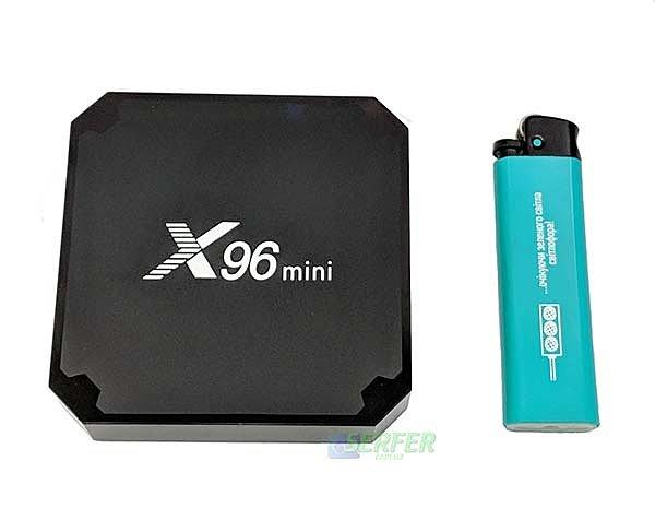 Размер приставки X96 mini