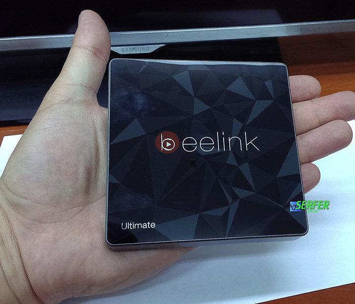 Внешний вид Beelink GT1 Ultimate на руке