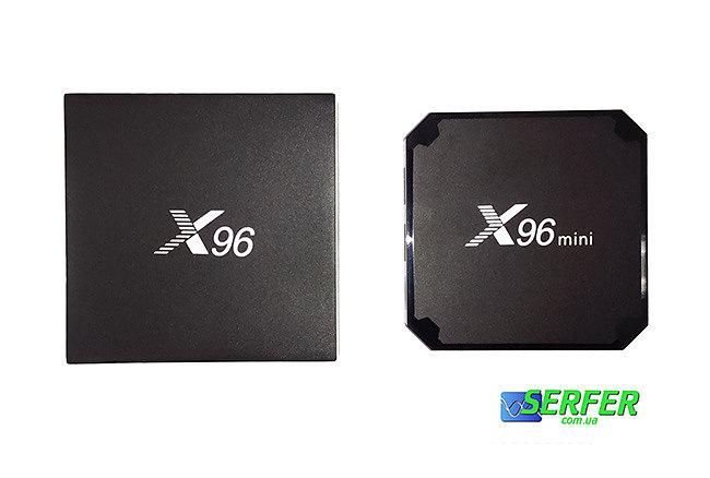 X96 mini VS X96 smart tv box