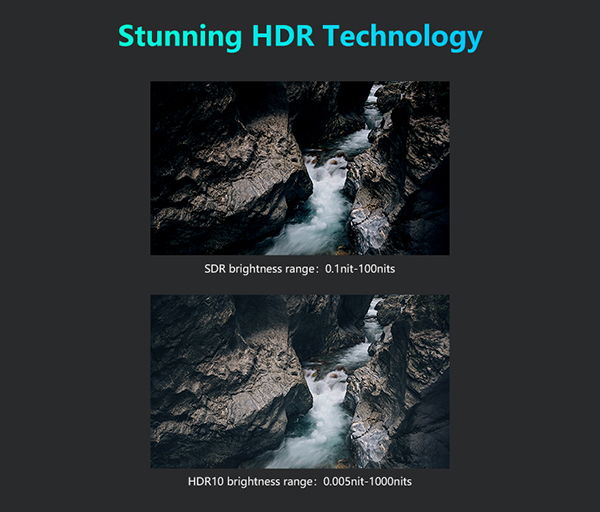 HDR media player