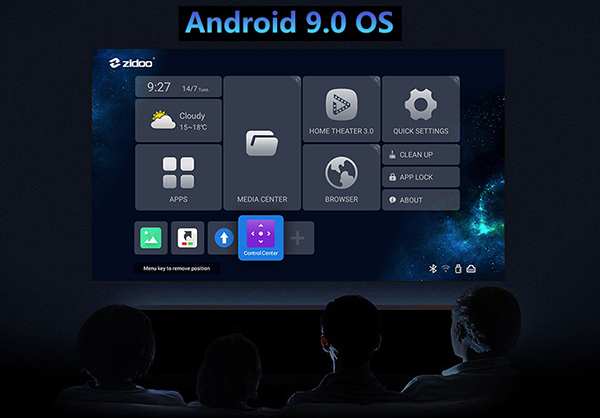 Android 9 Zidoo Z10 Pro